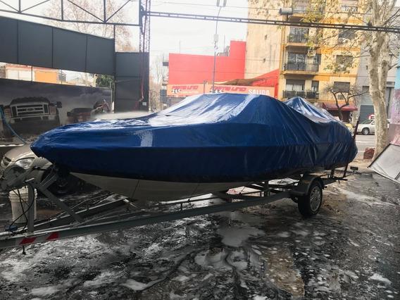 Lancha Arcoiris Fishing 551 Motor Evinrude 2 T + Tailer + Ac