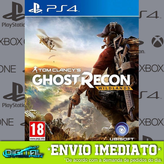 Tom Clancys Ghost Recon Wildlands Ps4 Envio Digital 10 Min!