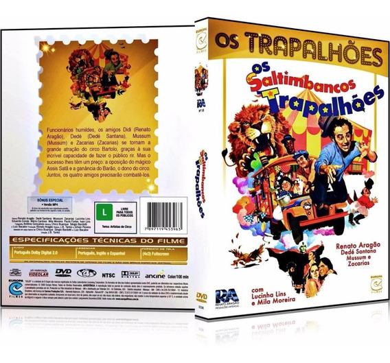 Dvd Os Saltimbancos Trapalhões 1981