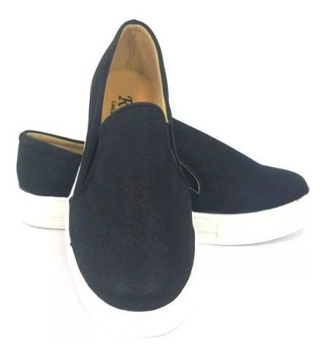 Slip On Preto Fosco
