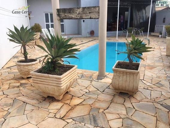 Sobrado Com 3 Dormitórios À Venda, 300 M² Por R$ 750.000 - Vila Paraíso - Mogi Guaçu/sp - So0095