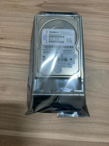 Hd Ibm 600gb Sas 10k 2.5 Storage Ds3524 Pn 45w7732 Novo