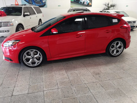 Ford Focus St 2.0 L 250 Hp 5 P T/m Rojo Racing Piel 2013