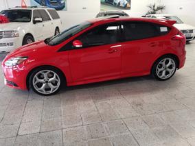 Ford Focus St 2.0 L 250 Hp 5 P T/m Rojo Racing Piel 2013