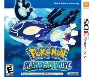 Pokmon Alpha Sapphire - Nintendo 3ds