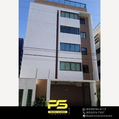 Imagem 1 de 14 de Flat Com 1 Dormitório À Venda, 38 M² Por R$ 185.000 - Intermarés - Cabedelo/pb - Fl0157