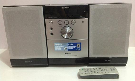 Aparelho Som Microsystem Sony Am/fm Cd/tape Muito Bom Estado