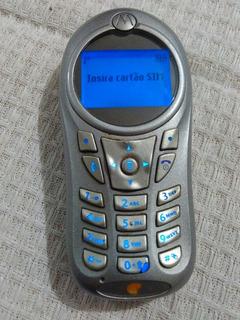 Celular Motorola C115 Operadora Oi Conservado Raro.