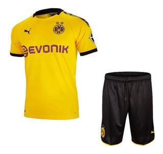 Conjunto Infantil Do Borussia Dortmund Oficial 2019-20