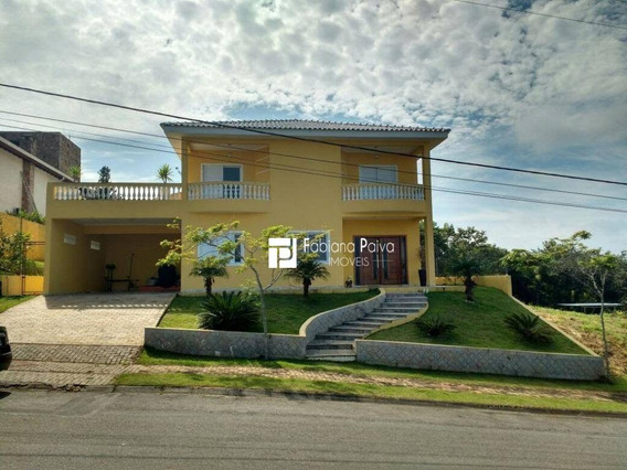 Casa Com 5 Dormitórios À Venda E Locação , 470 M² Por R$ 1.450.000 - Reserva Ibirapitanga - Santa Isabel/sp - Ca0039