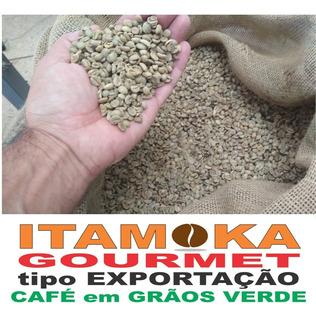 Café Grãos Verde 15kg R$18,33/kg 100% Arábica Sul De Mg