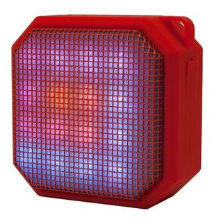 Mini Parlante Bluetooth Manos Libres Cubo Con Led Noga Net