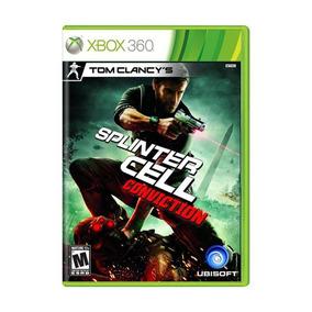 Splinter Cell Conviction Xbox 360 Original Midia Fisica