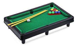 Mini Mesa De Pool Juguete Juego Para Niños (27cm X 19cm)