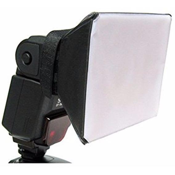 Difusor Flash Mini Softbox Universal Para Flash Speedlight