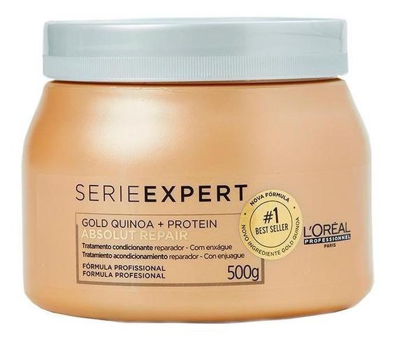 Máscara Gold Quinoa + Protein L