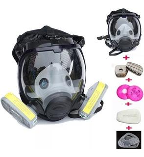 Mascara Respiratória Completa Kit 3m 6800similar Rosto Cheio