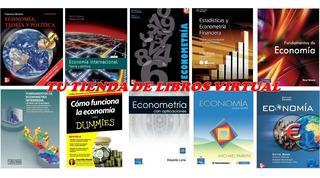 Economia Coleccion De 19 Libros