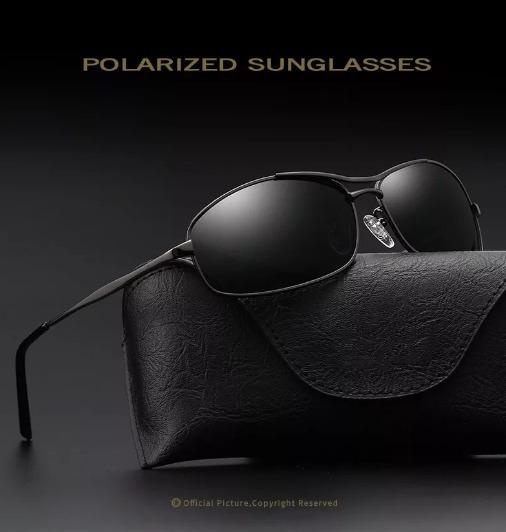 Óculos De Sol Masculino Coolsir Uv400 Lente Polarizada Hd