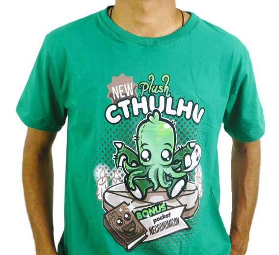 Camiseta Estilo Geek Lovecraft Baby Cthulhu