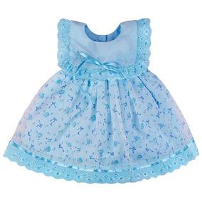 Kit 15 Vestidos Criança Gola U Bebê Infantil Revenda