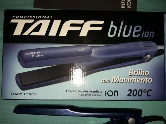 Prancha Taiff Blue Ion - Bivolt