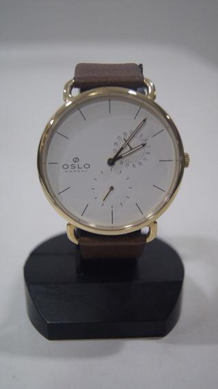 Relógio Oslo Slim Omgscmvd0002 Fundo Branco
