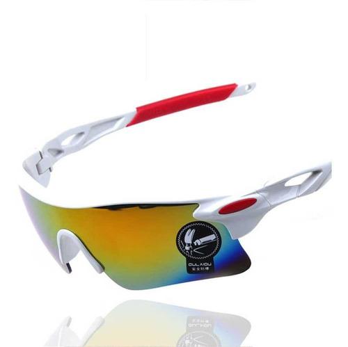 Imagem 1 de 3 de Óculos Esportivo Sol Bike Ciclismo Corrida Vôlei Uv400+brind