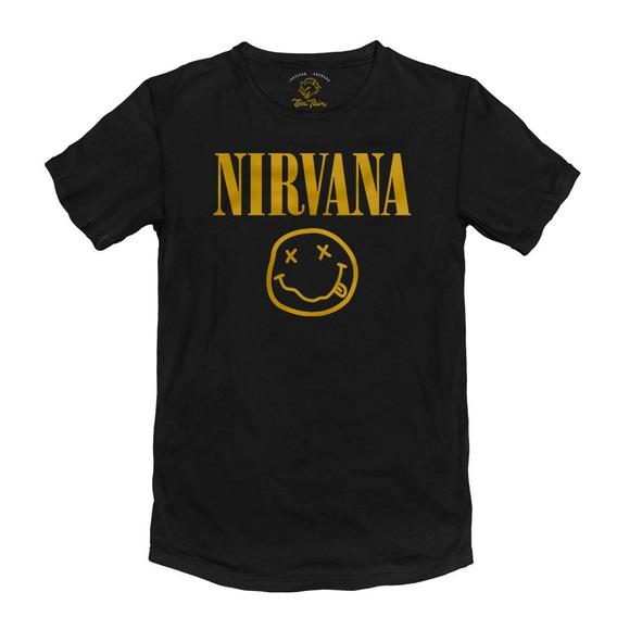Remera Nirvana Kurt Cobain Algodón Peinado 24/1 Premium