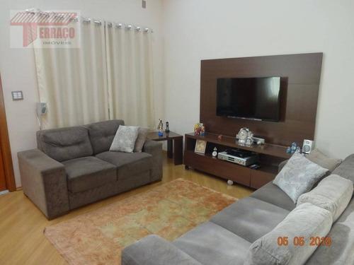 Imagem 1 de 30 de Sobrado Com 3 Dormitórios À Venda, 165 M² Por R$ 870.000,00 - Campestre - Santo André/sp - So0914