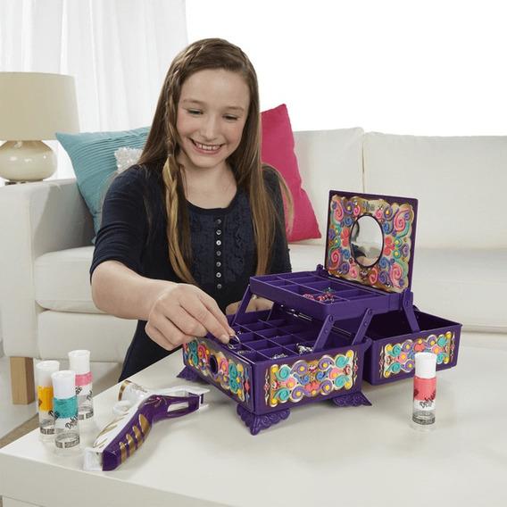Caixa De Joias Com Deco Pop No Styler Para Decorar Menina