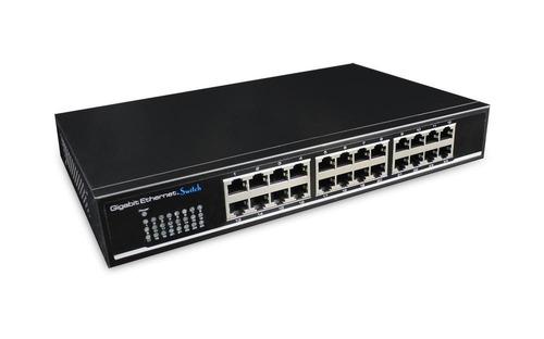 Switch 24 Puertos Cctv 48gpps  Cygnus (cy-s124)