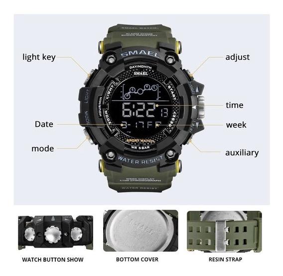 Relógio Militar G-shock Smael Original Aprovad
