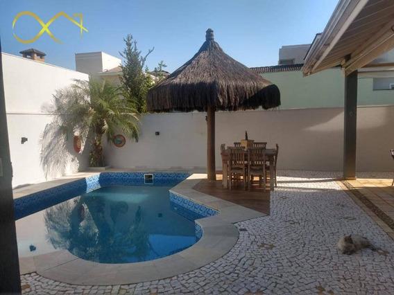 Casa Com 3 Dormitórios À Venda, 286 M² Por R$ 955.000,00 - Condomínio Metropolitan Park - Paulínia/sp - Ca1884