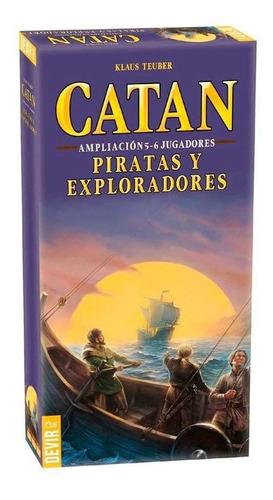 Imagen 1 de 3 de Colonos Catan Piratas Y Exploradores Amp. 5-6 Jugadores