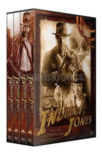 Indiana Jones Saga Completa 4 Peliculas Colección En Dvd