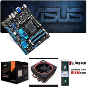 Kit Fx 8350 4.2ghz 8-core Core + Memoria 8gb + Placa Am3+