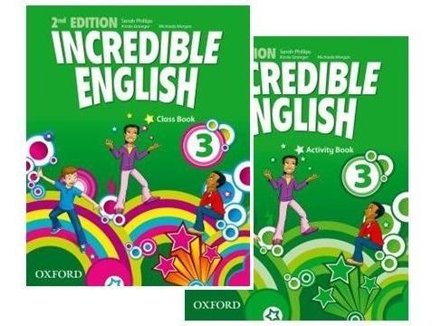 Incredible English 3 Class Book E Activity Book Frete Grátis