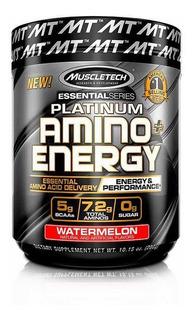Platinum Amino Energy Muscletech Bcaas Aminoácidos + Energía