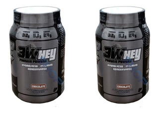 Combo 2 X Whey Protein Isolado 3w 907g Force Up Way Proten