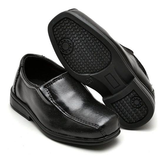 Sapato Social Infantil Nice Original Super Macio Confortável