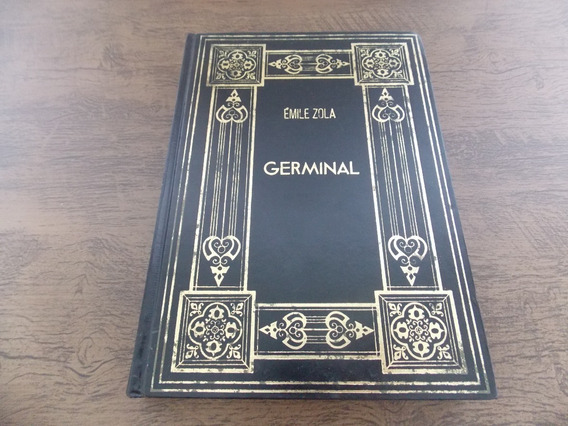 Livro Germinal - Émile Zola - 1981 Abril Cultural Capa Dura