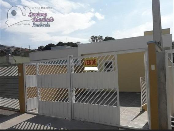 Casa Para Venda Em Atibaia, Jardim Imperial, 2 Dormitórios, 1 Banheiro, 1 Vaga - Ca00429