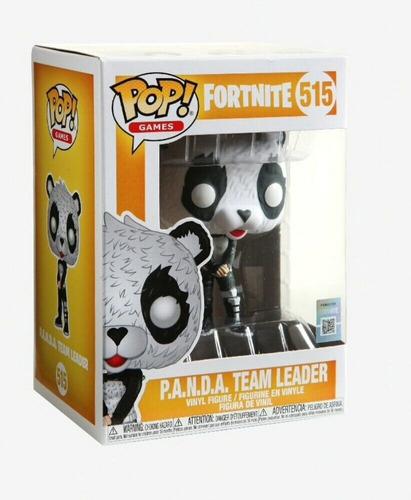 Muñeco Funko Pop Fortnite Panda Team Leader 515 Original!!