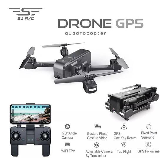 Drone Z5 Gps/ Clonass Localização Precisa Siga-me Volta Auto