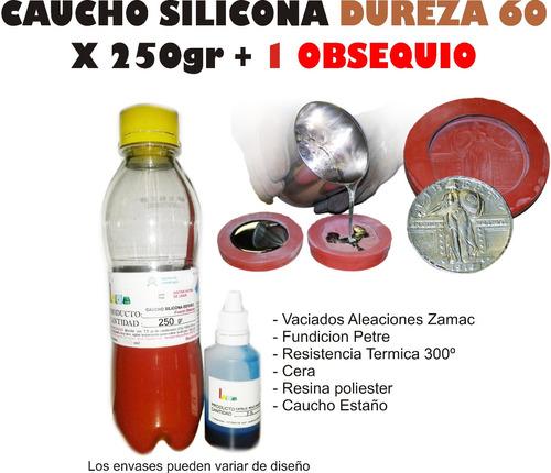 Caucho Silicona Moldes Mold 60 X250g Zamak Joyeria