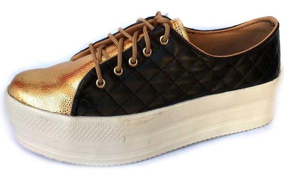Zapatillas Sneakers Con Plataforma