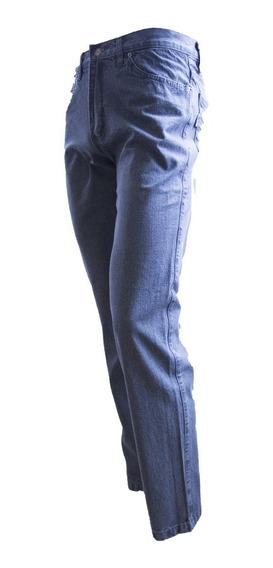 Jeans Clasico Hombre Montana Costura India Oxidos 38 Al 48