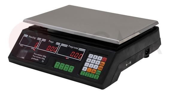 Balança 40 Kg Eletrônica Digital Alta Precisão 2 Gramas