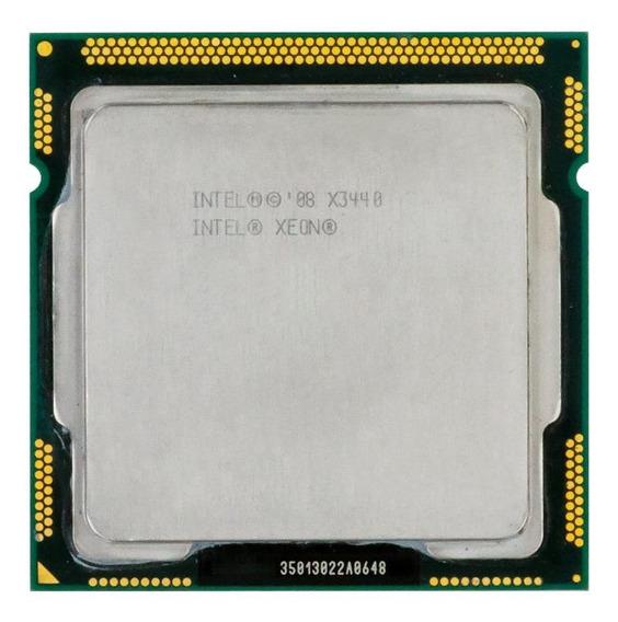 Processador Intel Xeon X3440 BX80605X3440 de 4 núcleos e 2.5GHz de frequência